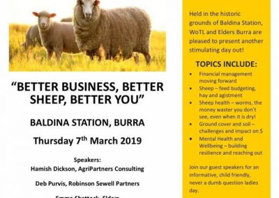 Better Business, Better Sheep, Better You