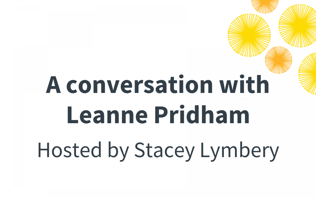 A Conversation with Leanne Pridham