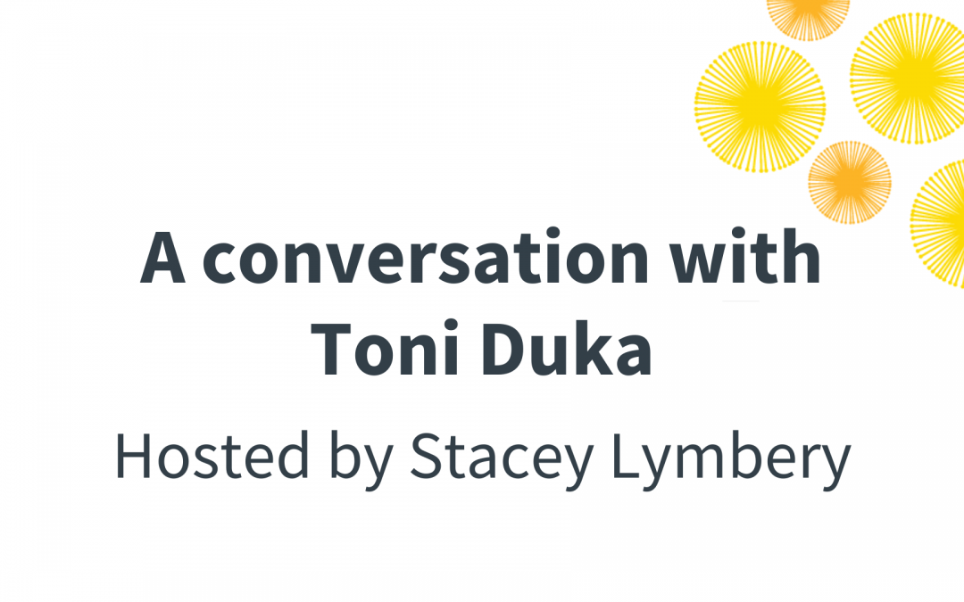 A Conversation with Toni Duka